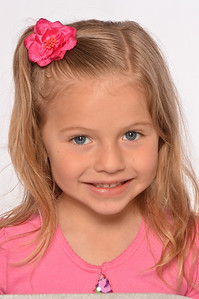 "Addyson - blonde/blue, height 41"", weight 35 lbs, dress 5 kids"