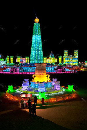 The Harbin Ice festival