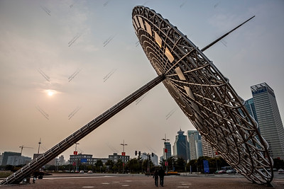 shanghai oriental light sculpture