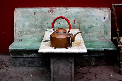 Teapot in Chengdu