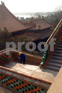 Stairs to Foxiang Temple