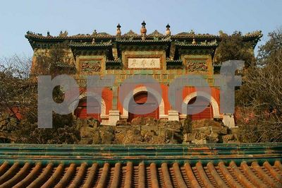 Rear building of Foxiang Temple