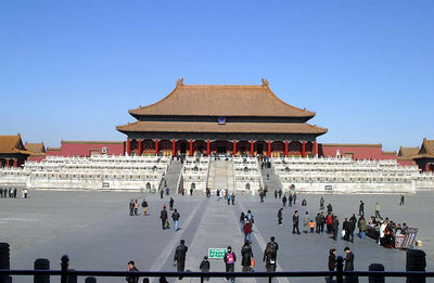 The main audience hall of the Forbidden City