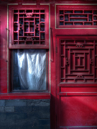 Forbidden City - Window Shade and Door
