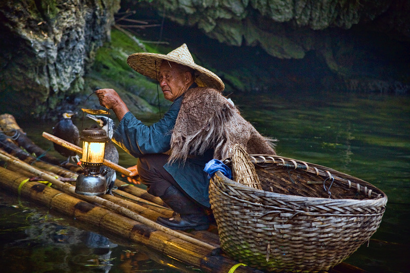 Traditional Fisherman - Yangshuo, China