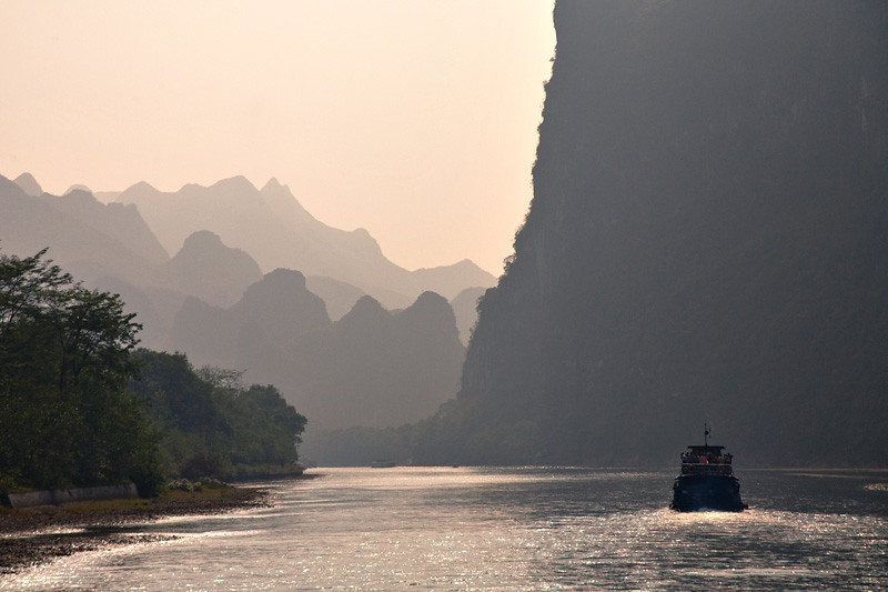 On Li River - near Guilin, China