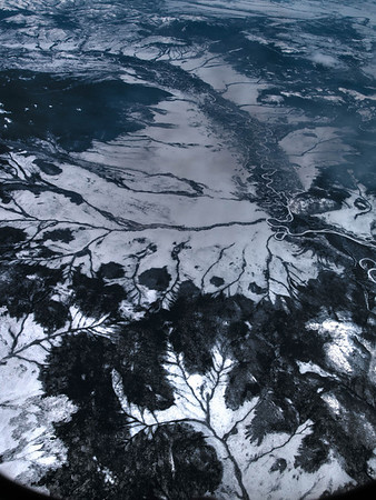 Frozen Rivers in Siberia