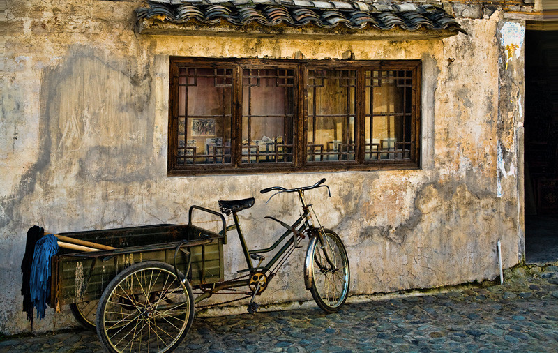 Work Bike - Qiankou, China