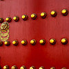 Entry door into the Forbidden City, Beijing, China