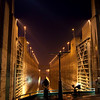 Three Gorges Dam lock entrance, China