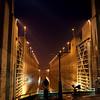 Three Gorges Dam lock entrance, China