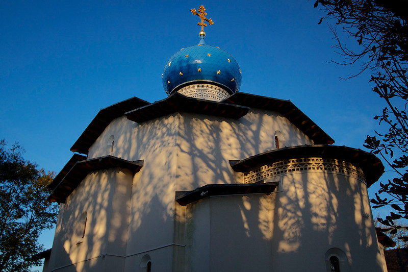 London's Russian Orthodox Cathedral