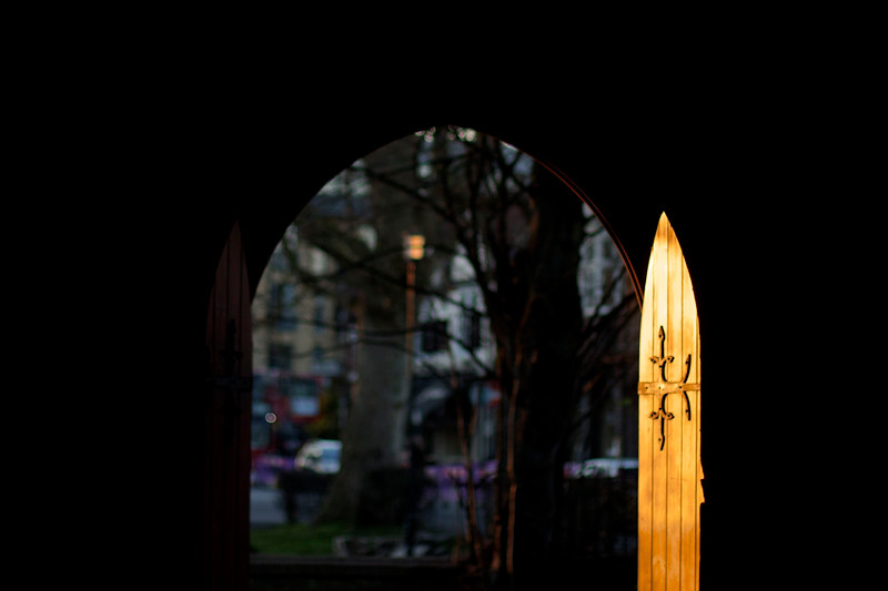 Welcome. New life at long closed St Alban's Church in Chiswick. March 2014.
