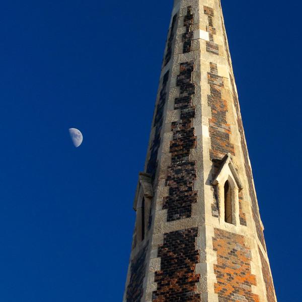 Newly restored stonework at Christ Church, Turnham Green in Chiswick in Feb 2014.