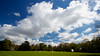 London Skies. The Authors XI v Japan at Chiswick House. April 2013.