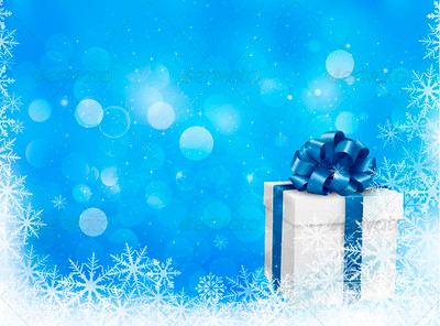04-christmas_background_snowflake_with_gift_box