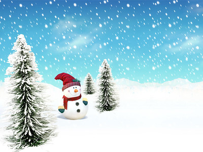 09-xmas greeting card background