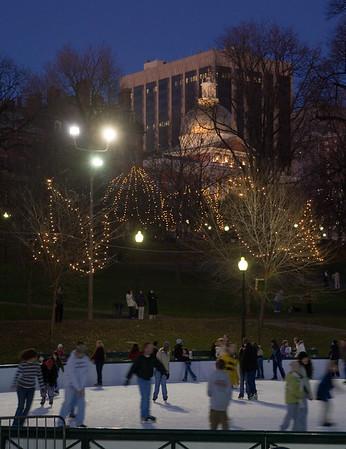 Christmas Eve in Boston