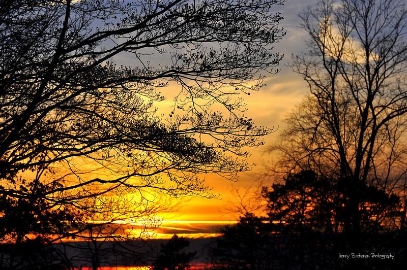 East Tennessee Sunset-