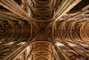 St. Eustache Cathedral ceiling, Paris. Now THAT is Gothic.
