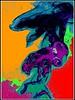 A colorized treatment of Troy Merchant's smoke photo