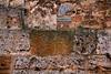 San Gimignano wall detail, Italy.