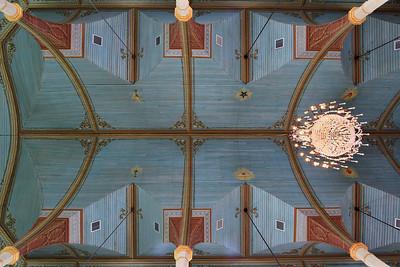 Praha Church Ceiling, 10MM wide angle time exposure. Texas.
