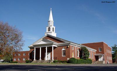 Church with steeple