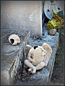 Another Fallen Angel  Key West Cemetery
