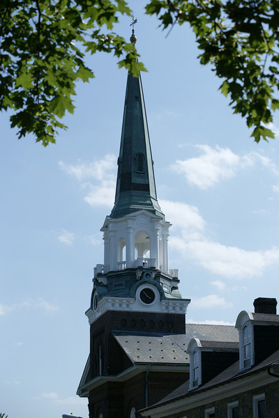 churches and steeples