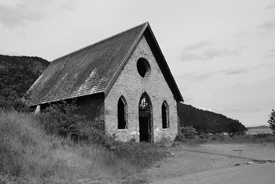Old Stone Butter Church, Cowichan Valley, BC, Canada