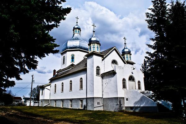 Descent of the Holy Spirit Ukrainian Catholic Church, Holden Alberta built in 1944