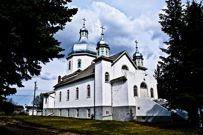 Descent of the Holy Spirit Ukrainian Catholic Church, Holden Alberta built in 1944