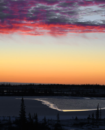 Churchill Sunrise, Manitoba