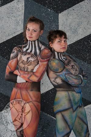 Marieke and Lindsay