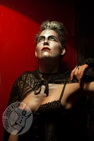 Kat Robichon A Very Bloody Misfit cabaret