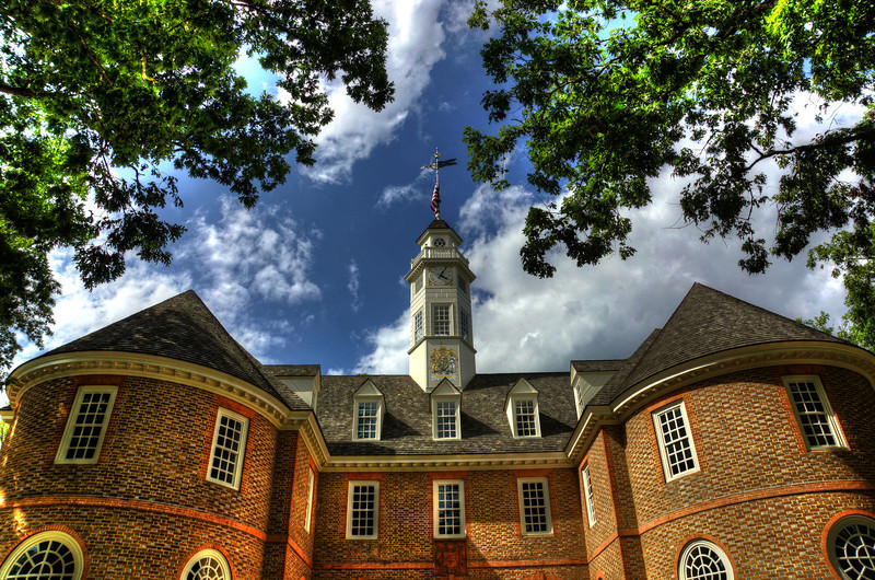 Capitol Building - Colonial Williamsburg, VA