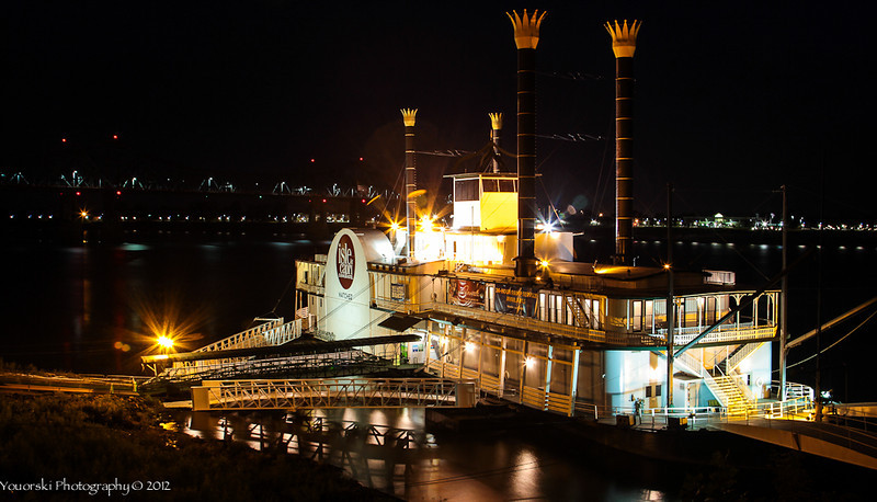River Boat casino on Mississippi River in Natchez MS