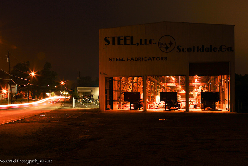 STEEL in Scottdale GA about a mile from my home