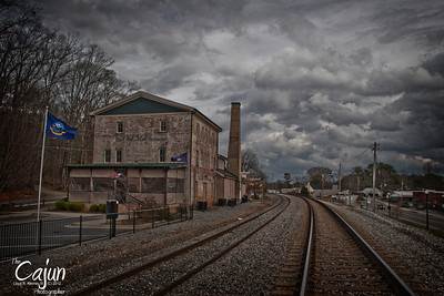 The Old Mill in Acworth, Ga. Photography By Lloyd Kenney III (C) 2012 All Rights Reserved