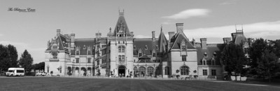 The Biltmore Estate_Panorama3 BW