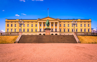 Royal Palace  Oslo, Norway