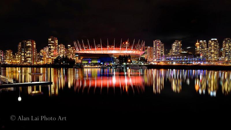 BC Place Stadium.