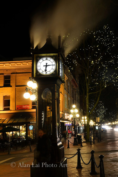 Gastown Steam Clock.