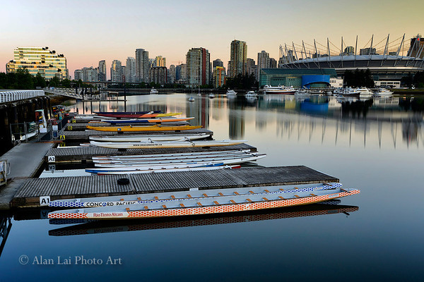 Good morning Vancouver, False Creek - Olympic Village
