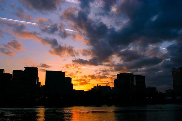 Portland in Silhouette