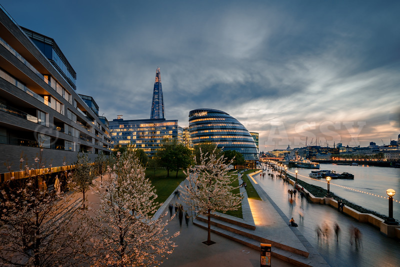 City Hall and The Shard