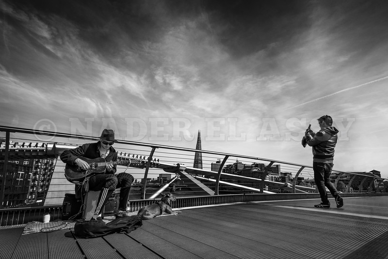 Moments on The Millennium Bridge