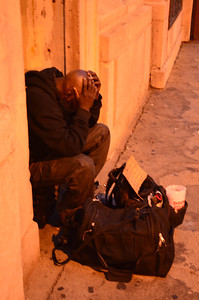 Homeless in Chicago