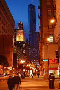 Trump Tower  @ dusk